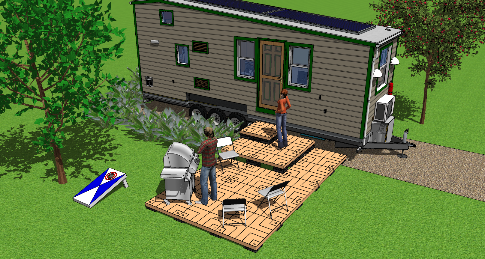 Tiny house with UDECX