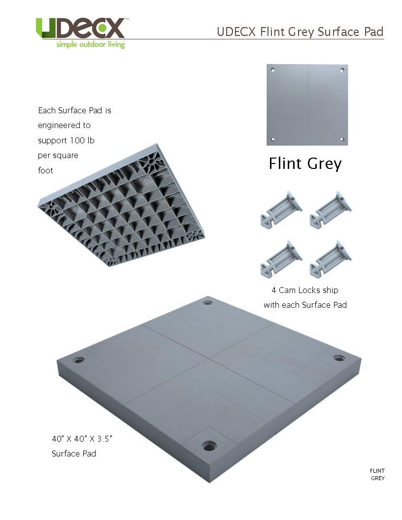FLINT GREY SURFACE PAD