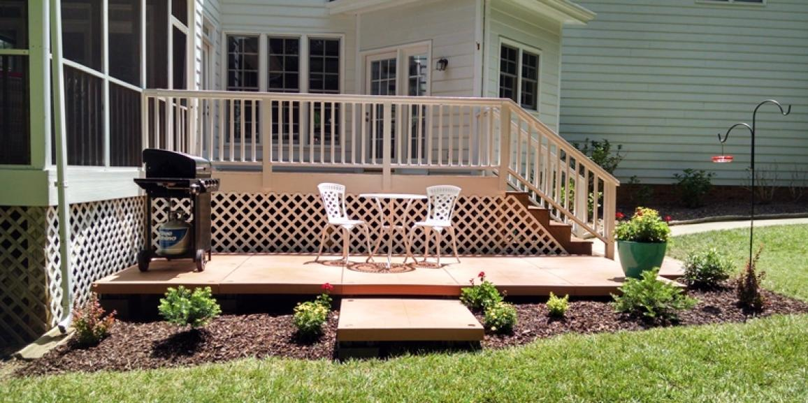 UDECX Patio Deck Designs | Build of the Month