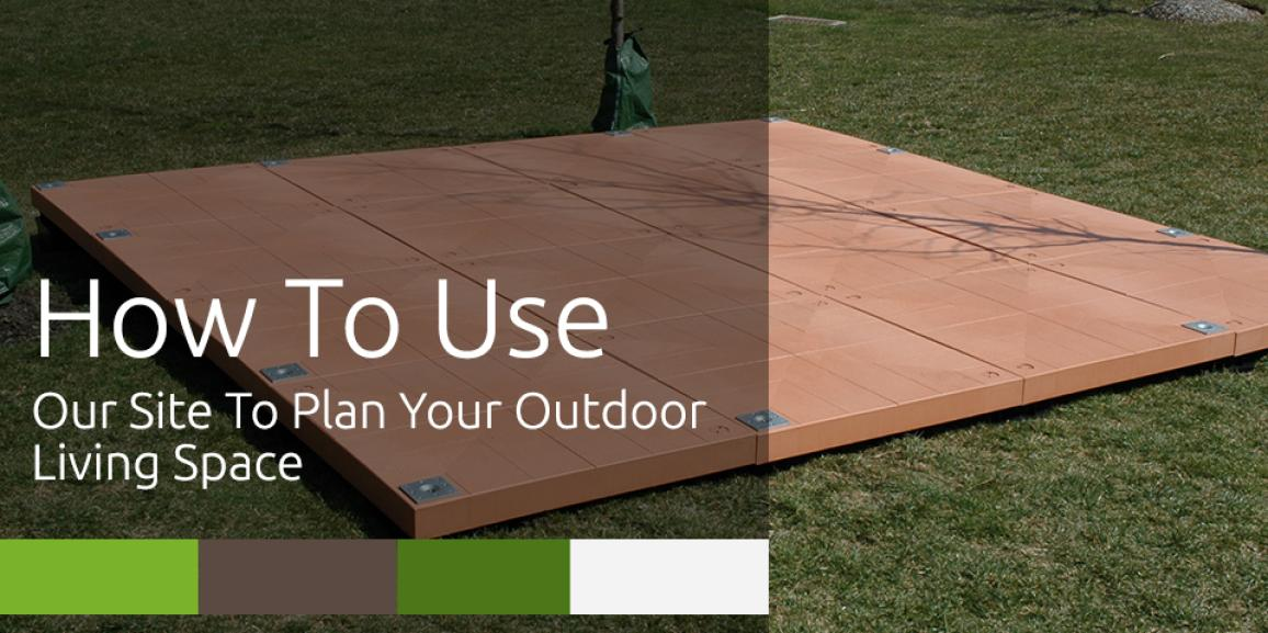 How To Use UDECX Patio Decking Design